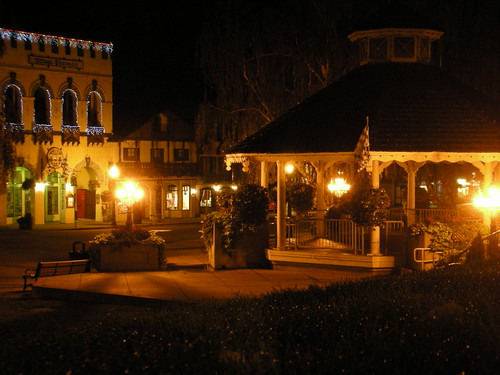 At Night in Leavenworth