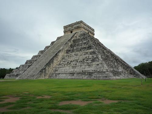 "Hauptpyramide in Chichen Itza: ""Kukulcan"""