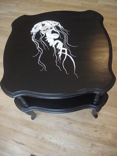 black jellyfish table