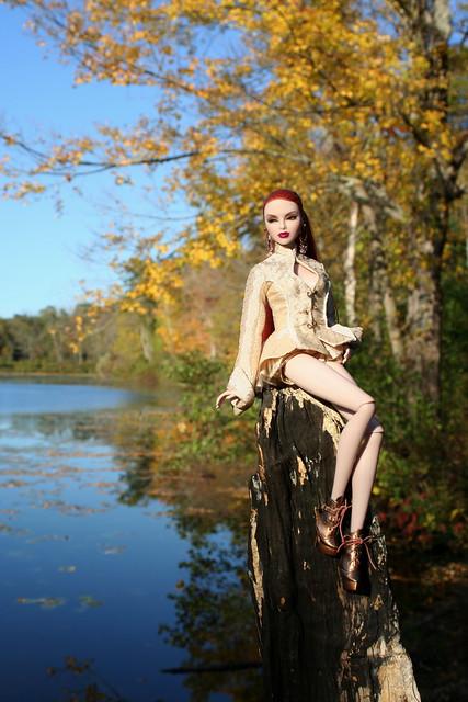 Luchia at the Lake