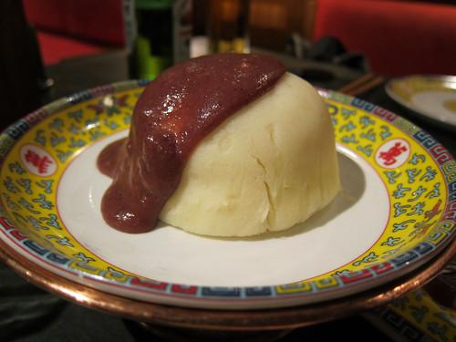Mashed Potato with Sweet Bean Paste