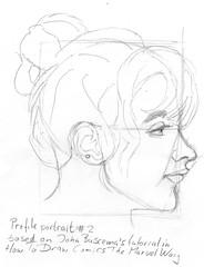 Buscema tutorial portrait # 3 for 2010-10-14
