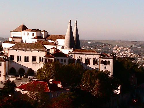 hiking Sintra, Portugal
