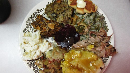 the fully loaded plate