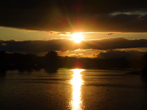 River Ness Sunset