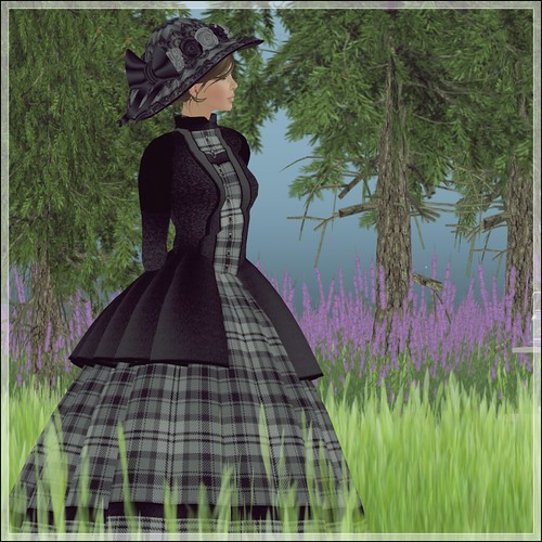 Hatpins - Lady Ophelia Hat and Dress - HDH