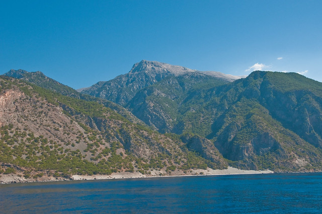 The South Coast of Crete