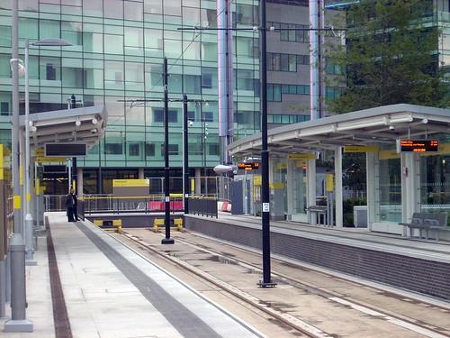 Media City UK tram stop