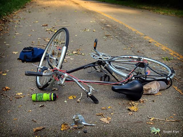 Bike Down 1