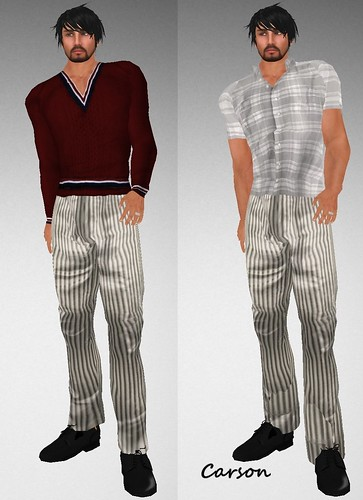 MHOH4 # 82 - Hell Bop Clothing Clark and Andrew Shirts and Louis Pants