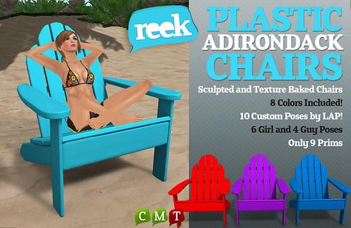 Reek - Plastic Adirondack Chairs Ad