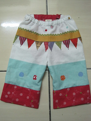 front view bB pants