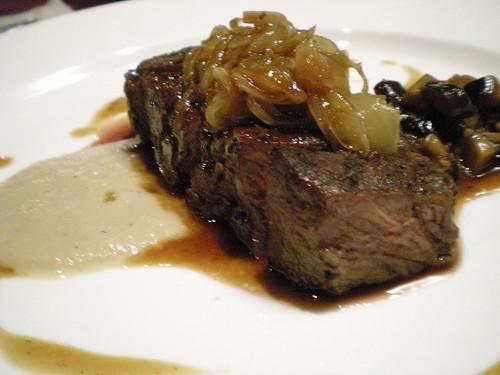 Charcoal Grill - sirloin steak