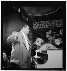 [Portrait of Duke Ellington and Sonny Greer, A...