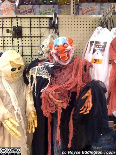 Vampire Ghost Zombie Clown