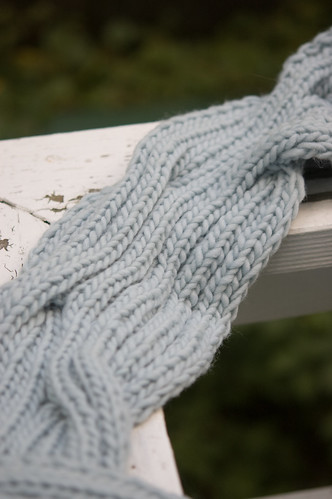 Back Cove Scarf - the middle
