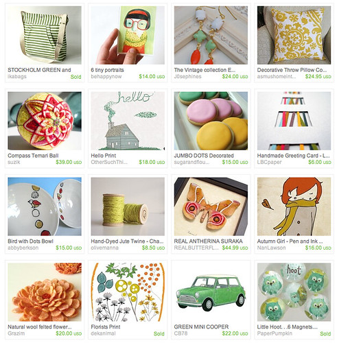 etsy treasury round up