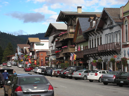 In Leavenworth, Washington