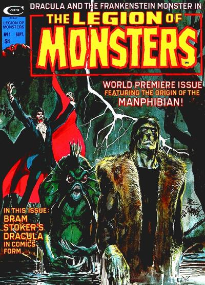 Legion of Monsters mag #1