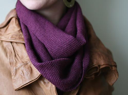 mahogany scarf