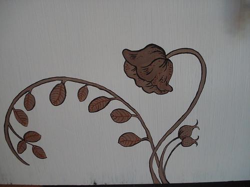 Wildflower Sideboard left detail