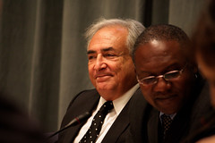 IMF Managing Director Dominique Strauss-Kahn i...