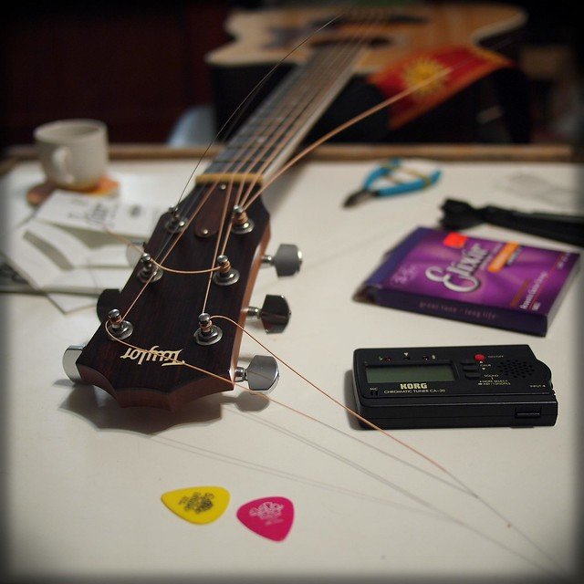Happiness is a New Set of Strings