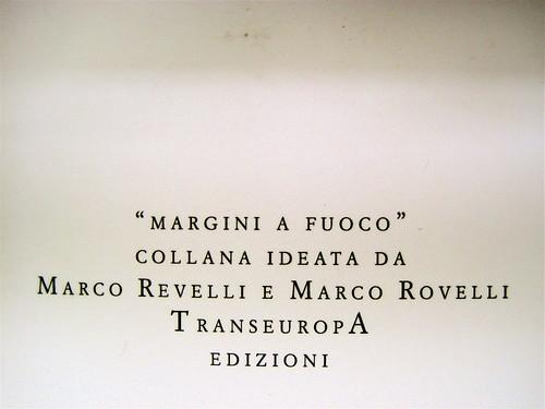 Franco Buffoni, Laico alfabeto in salsa gay piccante, Transeuropa 2010; Art director: Floriane Pouillot, q. di cop. (part.), 2