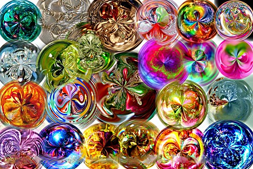 Many Orbs by Ate My Crayons, on Flickr