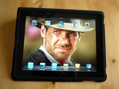 Indiana Jones en mi iPad