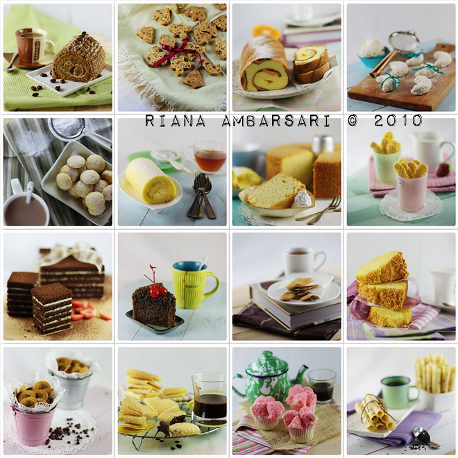 The Collage of Cake & Cookies