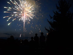 Fireworks over Camp Fantastic