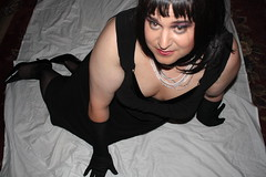 Early Morning Surprise: LBD Glamour Pose (1/3)