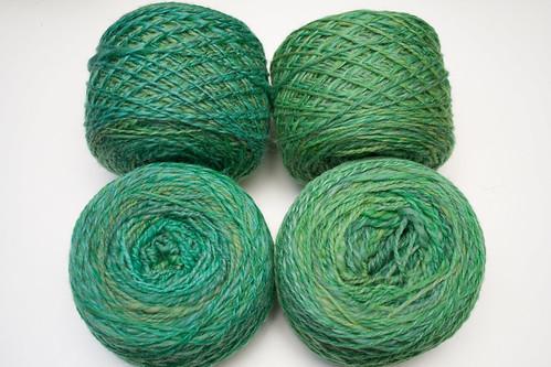 Emeralds Targhee Yarn