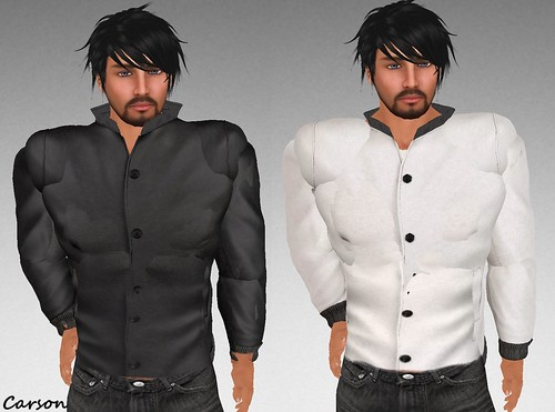 MHOH4 # 154 - Bellies Black and White Biker Jackets (2)