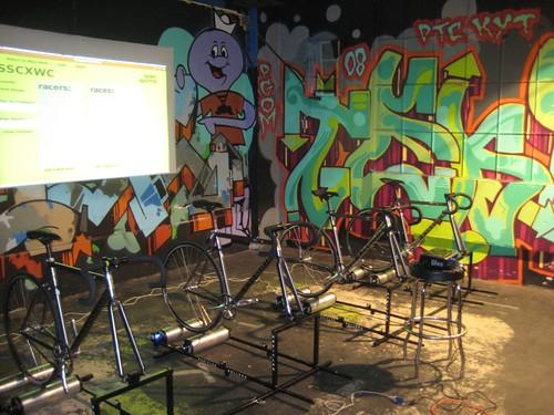 Roller race setup