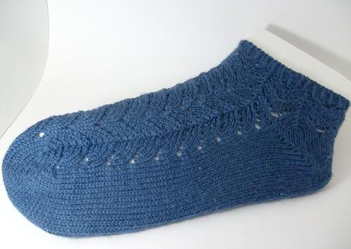 Chevron Encoded Socks