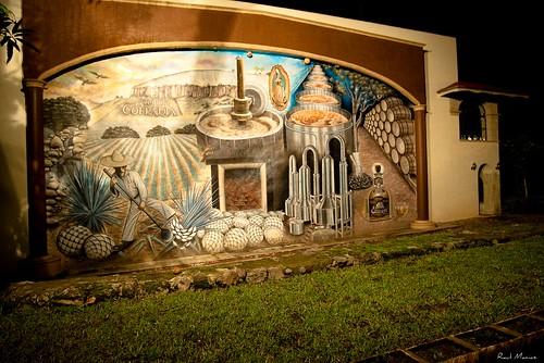 Mural, Hacienda la Cofradia
