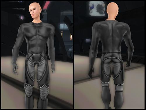 Male XEI - clothes detail
