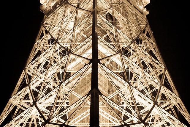 Tokyo Tower Antique