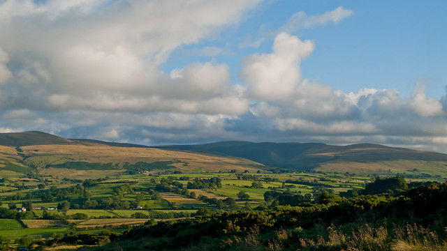 View to Caldbeck Fells
