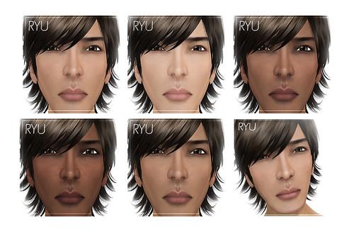 *Muism* Ryu Skins