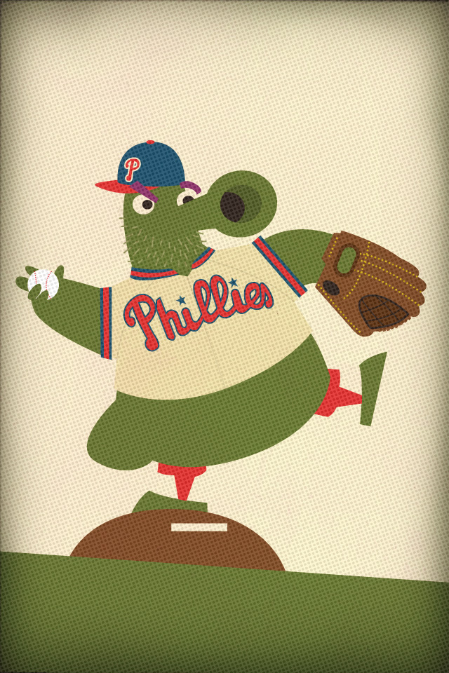 philly phanatic iphone wallpaper