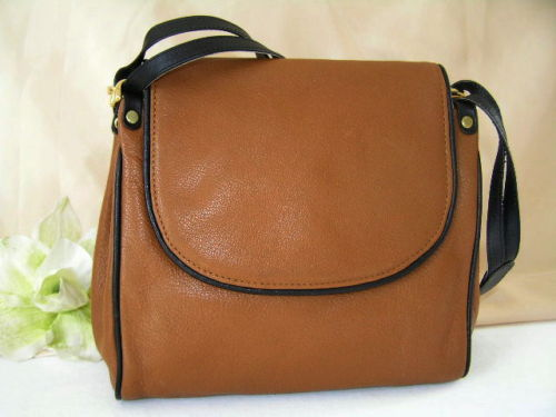 Handbag Tan Leather Earl