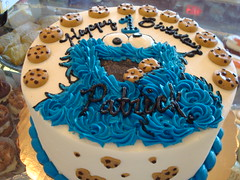 Society Bakery Cookie Monster Cake