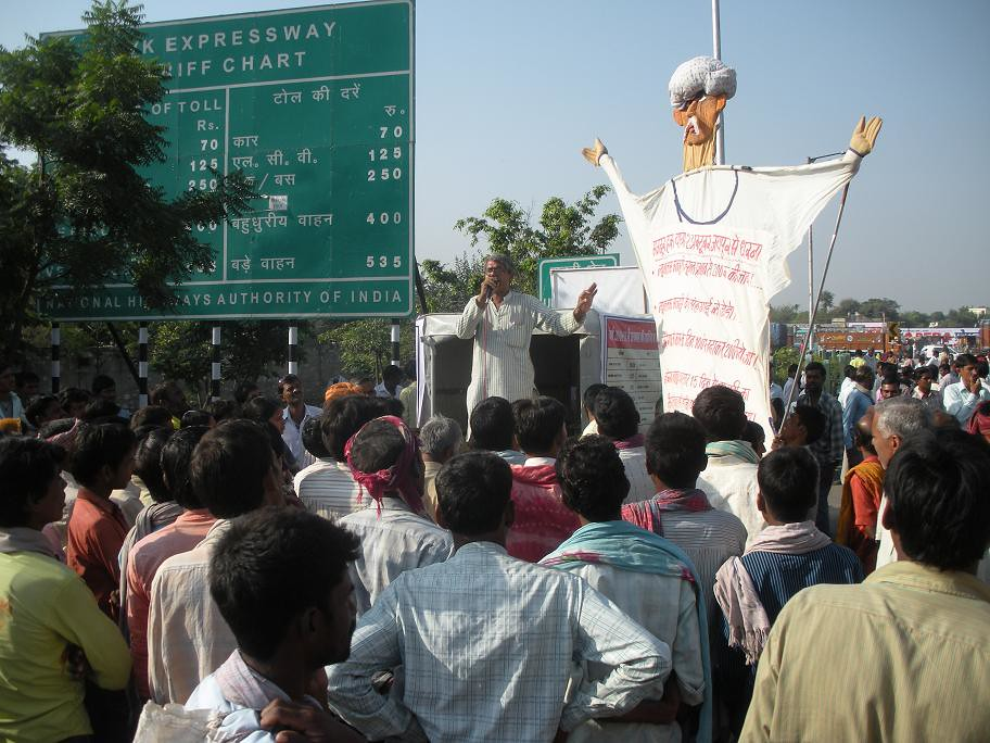 Pics from the satyagraha - 5, 6 & 7 Oct 2010 - 3