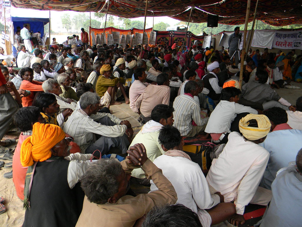 Pics from the satyagraha - 10 Nov 2010 - 5
