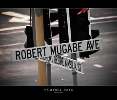 Robert Mugabe Avenue, Windhoek