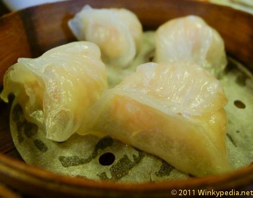 Chinese prawn dumpling, Best Value Michelin Starred restaurant in the World