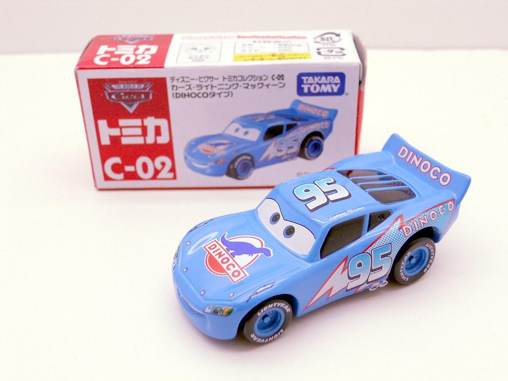 tomica disney cars dinoco lightning mcqueen (3)